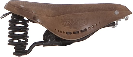 30b5fc9fdd1 bol.com | Brooks B67 Aged - Fietszadel - Heren - Leer - Bruin