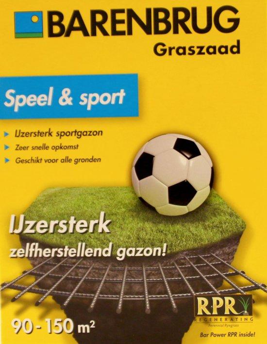 Barenbrug graszaad voor sportgazon en speelgazon - Speel en sport - 3000 gram