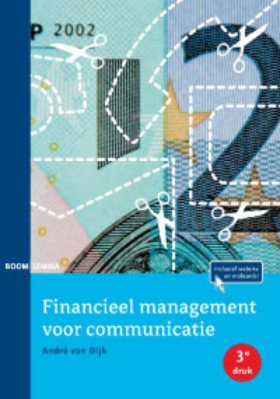 Financieel management voor communicatie