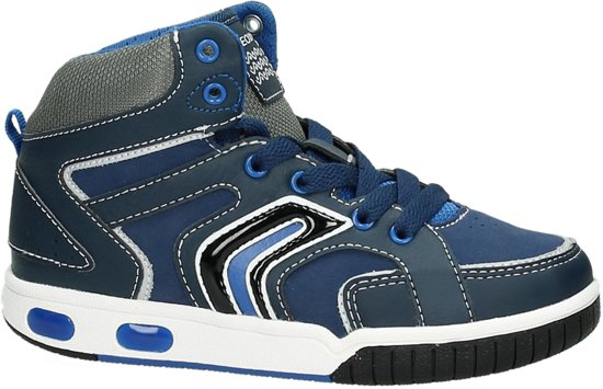496b9b359a1 bol.com | Geox J 5447 A - Sneaker hoog - Jongens - 4226 Navy/Royal - 32