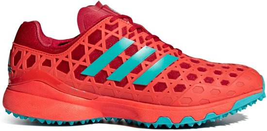 Adidas Adizero - Chaussures De Hockey - 44 - Rouge DJoUpOLjD