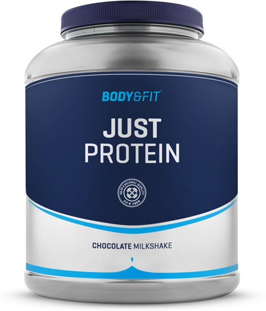Body & Fit Just Protein Eiwitpoeder / Eiwitshake - 2000 gram - Chocolate milkshake