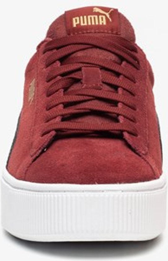 | Puma Vikky Stacked dames sneakers Rood Maat 41