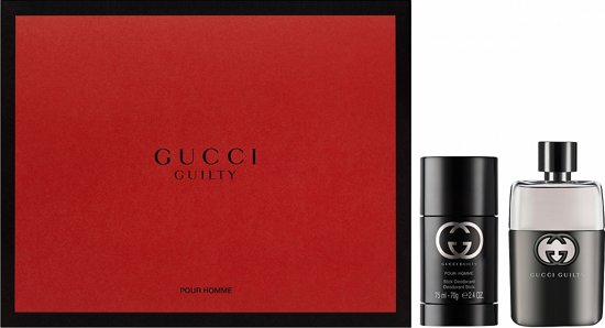 8dbbf872db4 Gucci Guilty pour Homme Giftset - 50 ml eau de toilette spray + 75 ml  deodorant