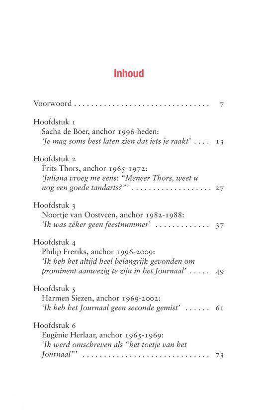 De Iconen Van Het Nos Achtuurjournaal.Bol Com De Iconen Van Het Nos Achtuurjournaal Babs Assink