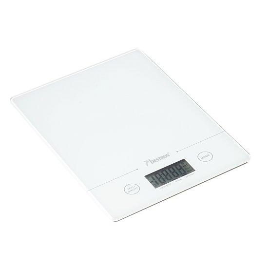 Bestron AKS700W - Digitale Keukenweegschaal  - Wit