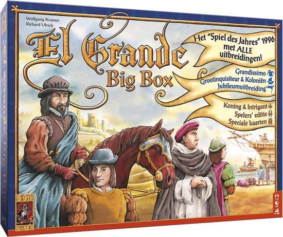 Afbeelding van het spel El Grande Big Box