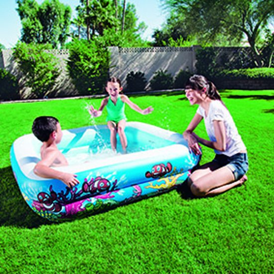 Canopy play pool 1,47 x 1,47 x 1,22m
