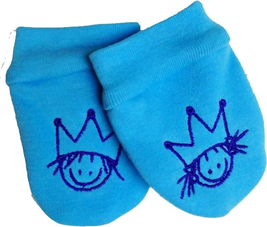 Rube & Rutje baby krabwantjes R&R turquoise 0-6 maand