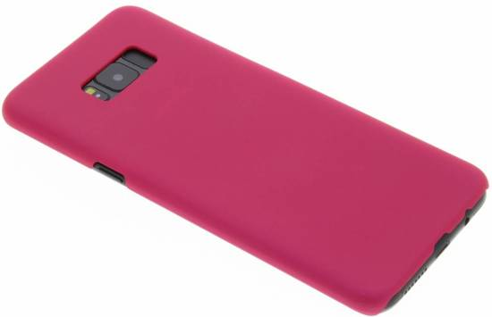 Rose Couverture Étui Rigide Clair Pour Samsung Galaxy S8 DZPiWck15C