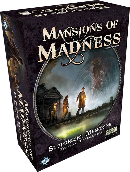 Mansions of Madness 2nd Edition: Suppressed Memories Figure & Tile Collection