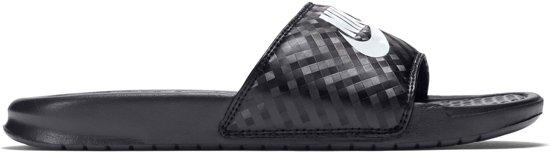 d3995ea38d2 bol.com | Nike Benassi JDI Slippers Dames - Black/White
