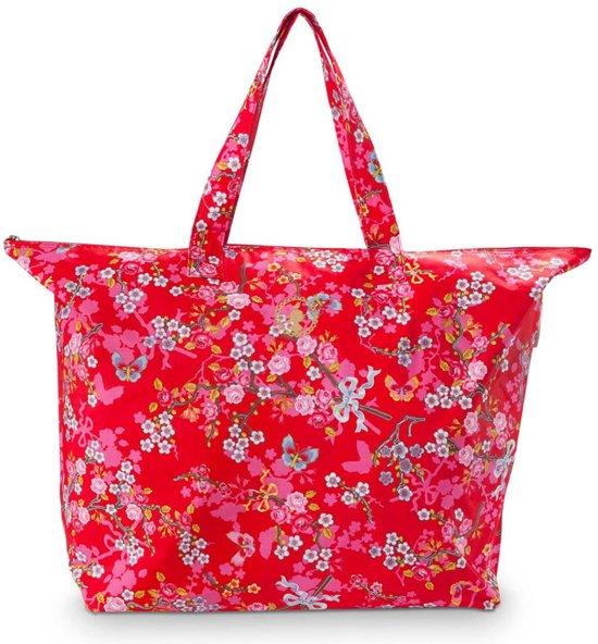 4e021a921a8 bol.com | PiP Studio Beachbag Chinese Blossom Red