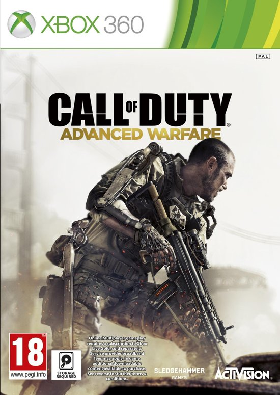 Call Of Duty: Advanced Warfare - Standard Edition - Xbox 360 (Compatible met Xbox One)