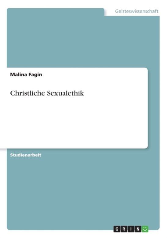 Christliche Sexualethik