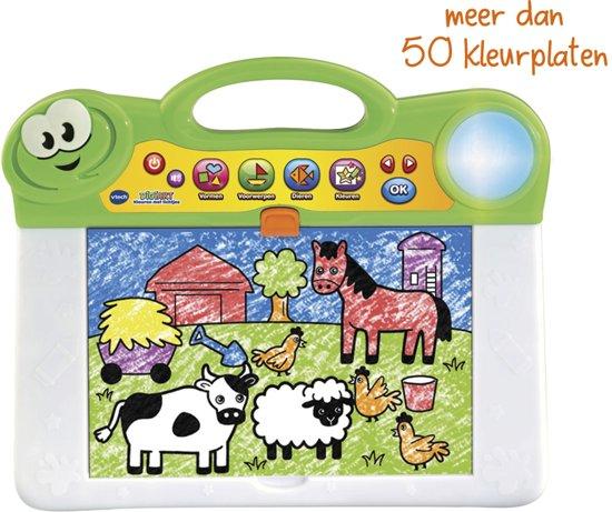 Kleurplaten Baby Born.Vtech Preschool Digiart Kleuren Met Lichtjes Digitaal Tekenbord