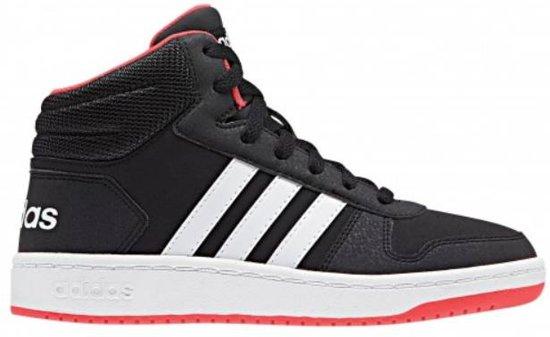 adidas schoenen wit zwart rood