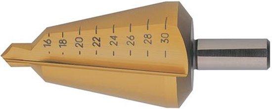 Plaatfrezen HSS TiN 4-31,0mm FORMAT
