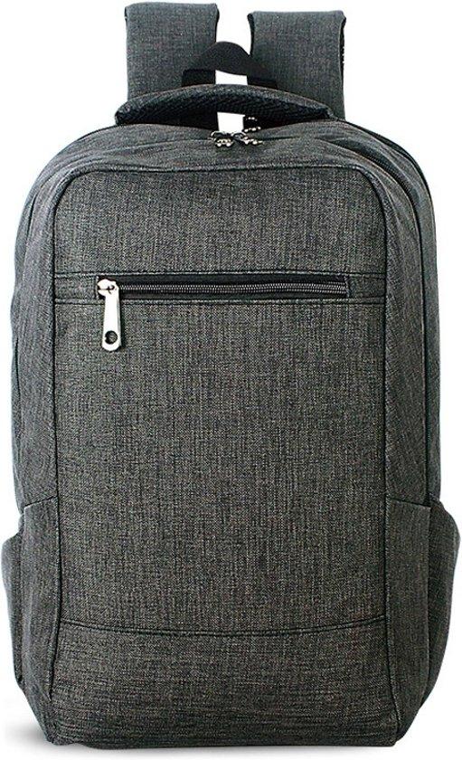 Let op type!! Universele multifunctionele 15.6 inch Laptop Schouderstas studenten Backpack voor MacBook  Samsung  Lenovo  Sony  Dell  Chuwi  Asus  HP  Afmetingen: 43 x 28 x 12 cm (taupe)