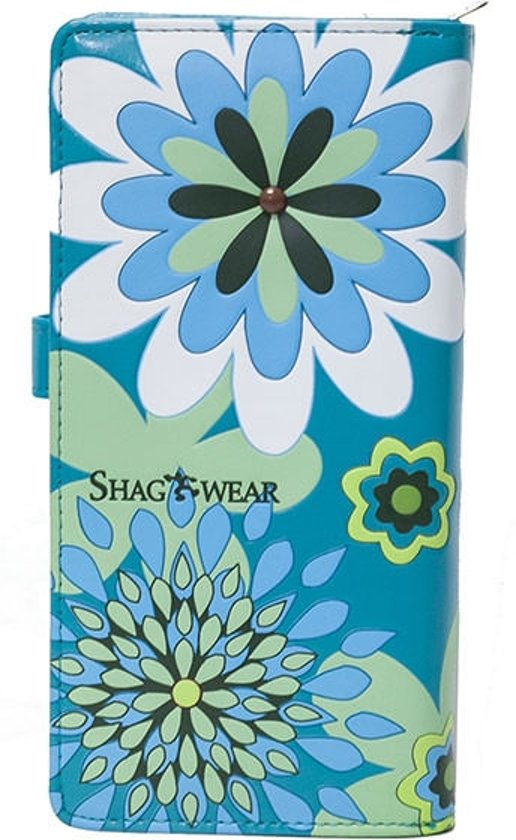 SHAGWEAR portemonnee Vintage Flowers turquoise - 0395Z