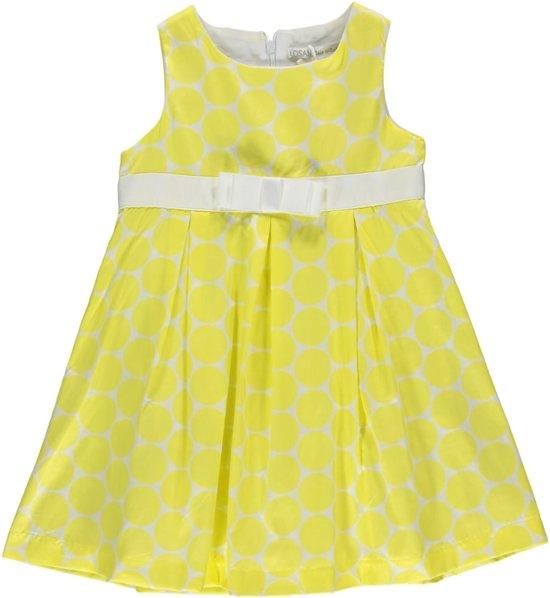 4756eae2dbd bol.com   Losan meisjeskleding - Gele kleed met stipjes - 516-7023 ...