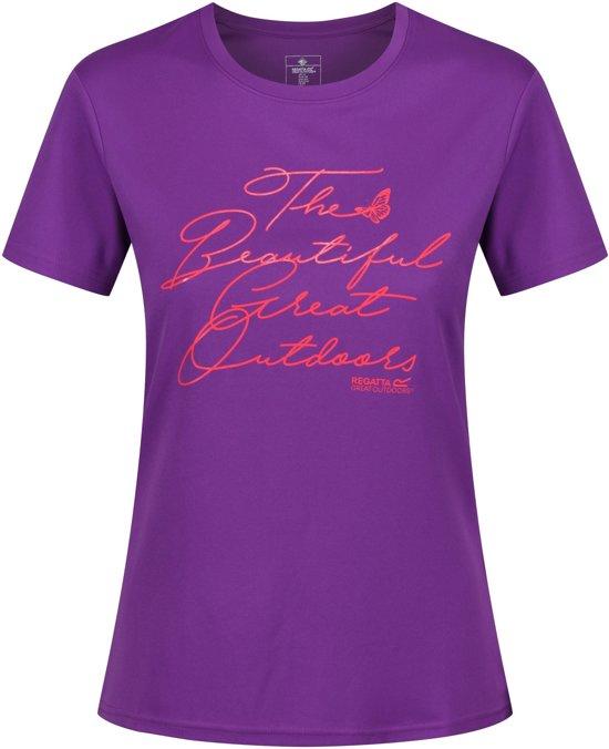 Regatta Fingal III Shirt - Dames - Paars