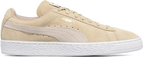 46885b23421 bol.com | Puma Sneakers Suede Classic Dames Beige Maat 38,5