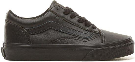 c7601a022b8 Vans Old Skool - Sneakers - Kinderen - Black Mono - Zwart - Maat 35