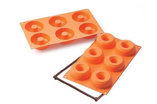 Donutvorm Oranje