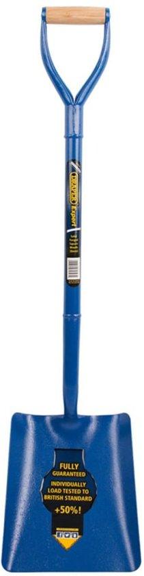 Draper tools expert schop vierkant blauw 64327