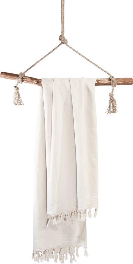 Walra Hamamdoek Soft Cotton 100x180 cm kiezel
