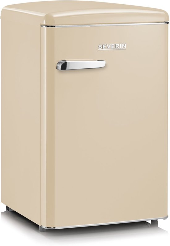 Severin RKS 8833 Tafelmodel Retro koelkast creme