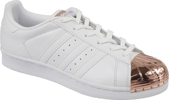 bol.com | adidas Superstar Metal Toe W BY2882, Vrouwen, Wit ...