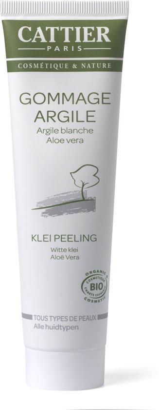 Cattier-Paris Witte klei-Aloe Vera - Peeling