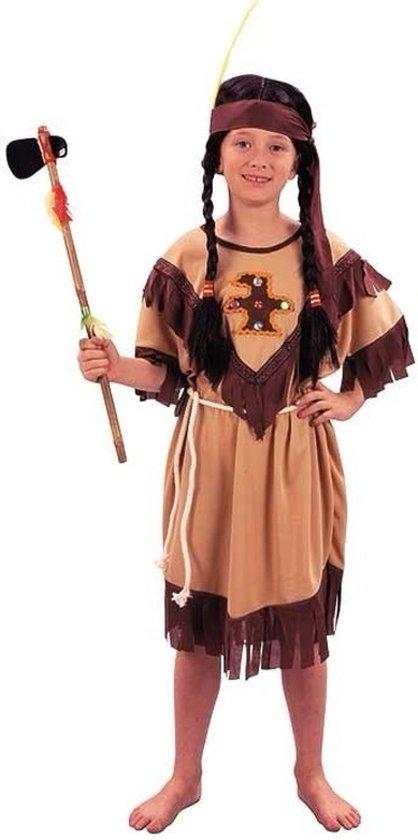 Voordelig indianen kinder jurkje 120-130 (7-9 jaar)