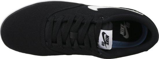 Sb Zwart Solar Check wit Canvas SneakersMaat Mannen Nike 42 5R3q4jAL