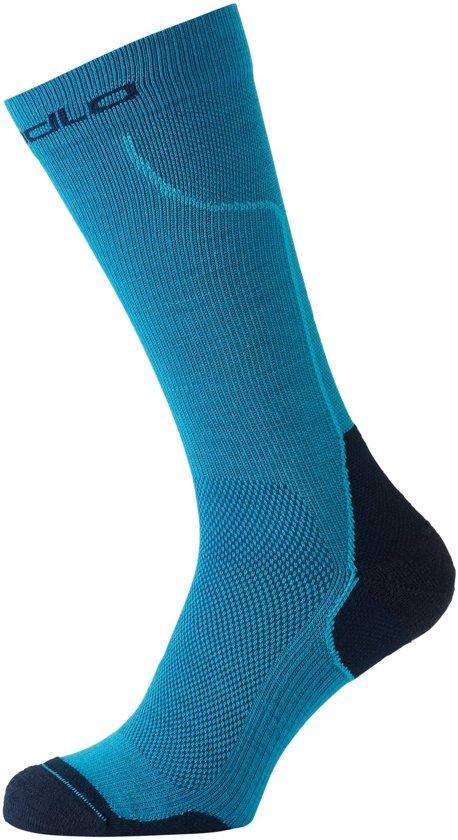 Odlo Socks Long Ceramiwarm Sportsokken Unisex - Blue Jewel-Diving Navy