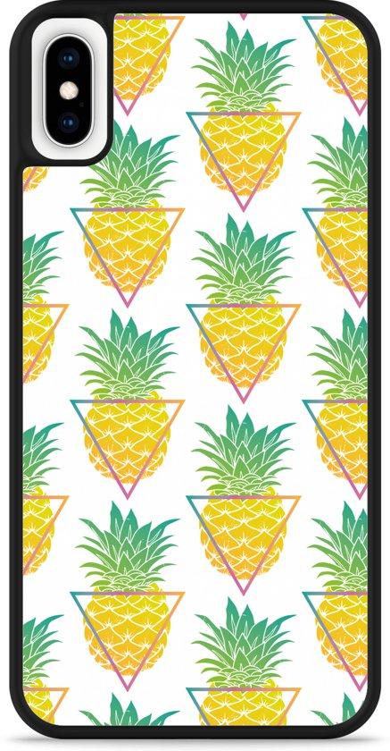 iPhone Xs Max Hardcase hoesje Pineapple