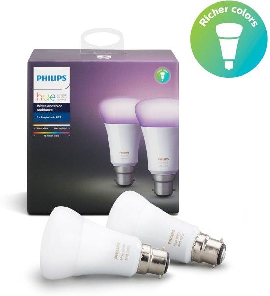 bol.com | Philips hue 8718696733929 Intelligente verlichting 10W Wit ...