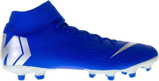 big sale bec30 39da8 Nike Mercurial Superfly 6 Academy Sportschoenen - Maat 44 - Unisex -  blauwzilver