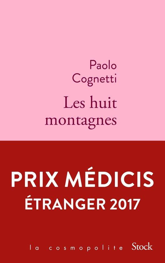 Boek cover Les huit montagnes van Paolo Cognetti (Onbekend)
