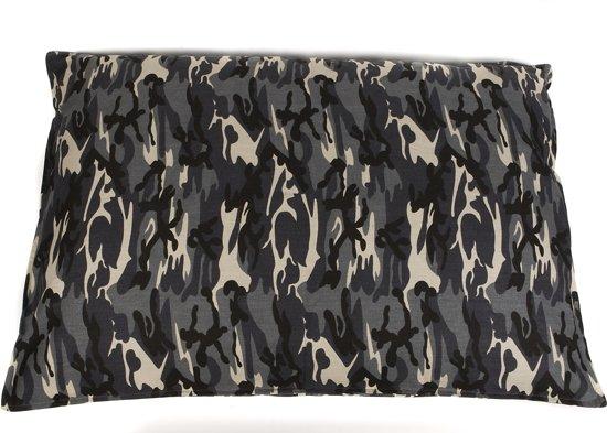 Bench Met Kussen : Bol.com dogbed kussen bench camouflage 75x50 grijs