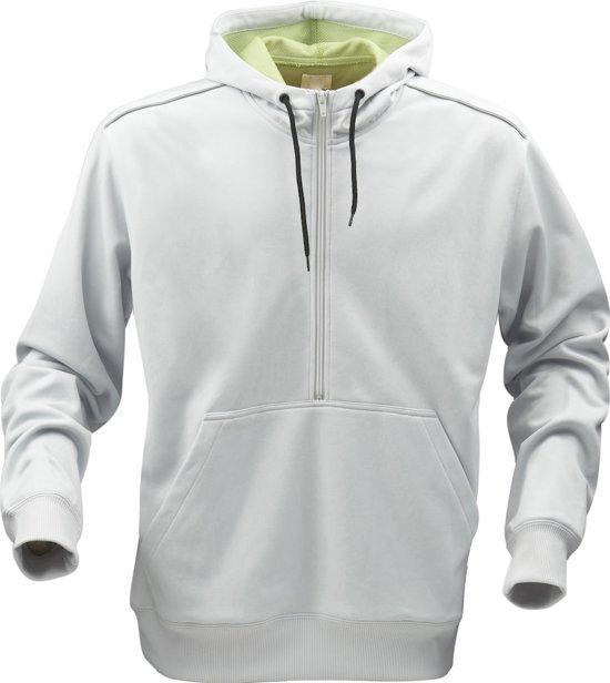Printer Archery sweater Light grey / Lime L