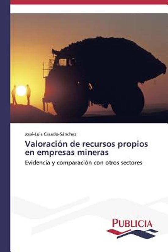 Valoracion de Recursos Propios En Empresas Mineras