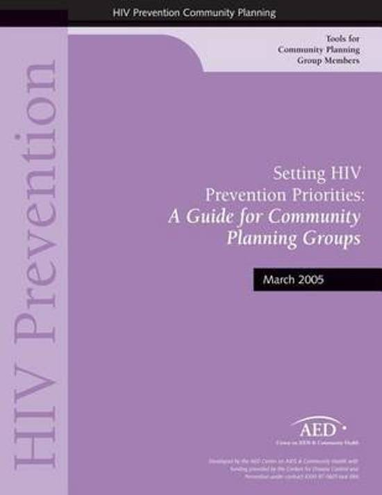 Setting HIV Prevention Priorities