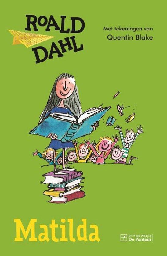 Boek cover Matilda van Roald Dahl (Hardcover)