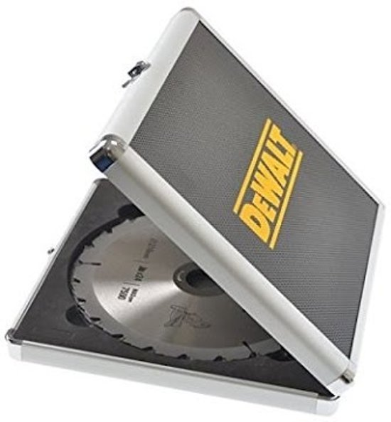 DeWalt DT1171 CSB 3-delige Cirkelzaagbladen Set voor Hout 165x30mm 2x30T 1x18T in Aluminium Koffer
