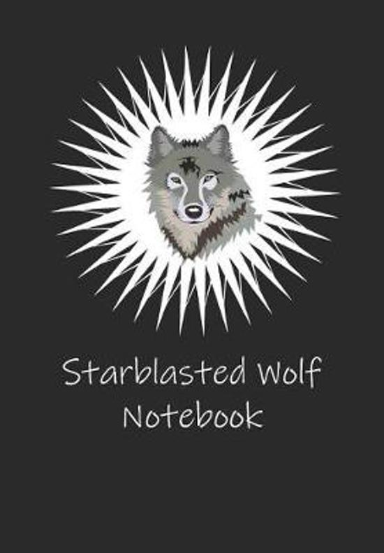 Starblasted Wolf Notebook
