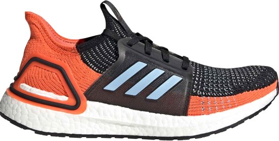 adidas UltraBoost 19 Sportschoenen Maat 41 13 Vrouwen zwartoranjeblauw