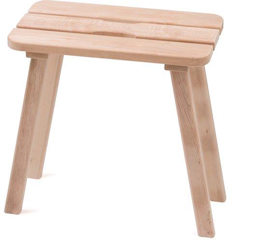 Wonderbaarlijk bol.com | Sauna kruk / voetenbankje - elsen hout, 50 cm (Pinetta) SK-51
